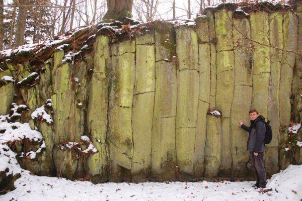 Słupy bazaltowe w Muchowie