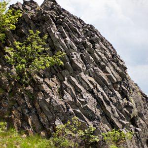 Czartowska Skała – wygasły wulkan